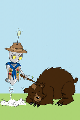 Click image for larger version  Name:Robot_boyscout_poking_a_bear_by_Fluffely_fluffluf.png Views:61 Size:164.3 KB ID:23964