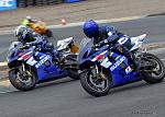 Me and a mate going at it on track